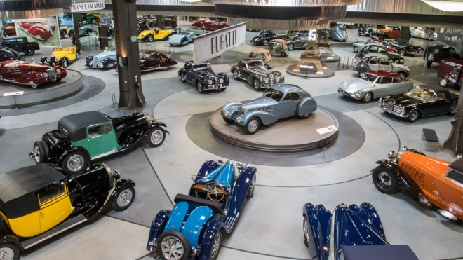 The Mullin Automotive Museum in Oxnard, Calif.