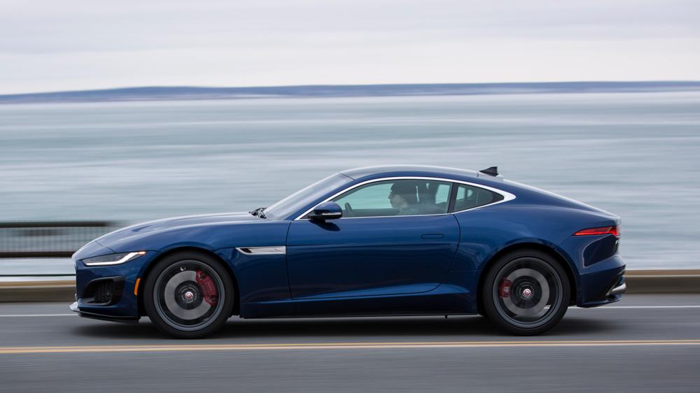 The 2021 Jaguar F-Type R Coupe.
