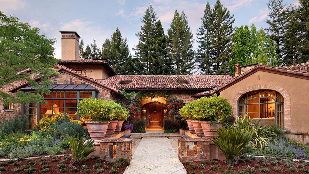 Villa italiana nella Silicon Valley