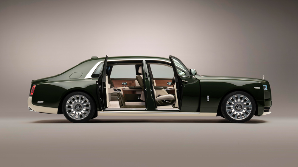 The one-off Rolls-Royce Phantom Oribe.