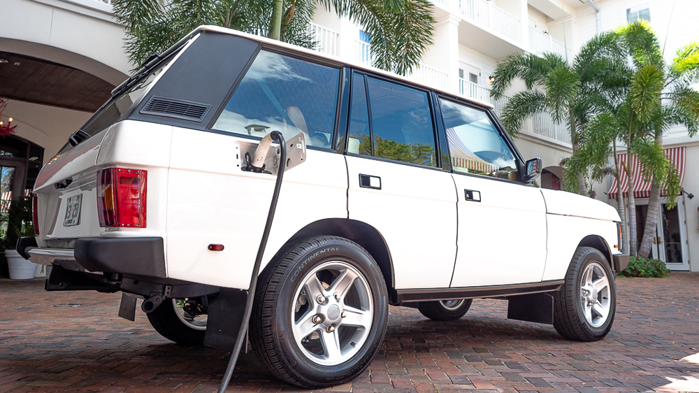 E.C.D. Automotive Design's all-electric Range Rover Classic.
