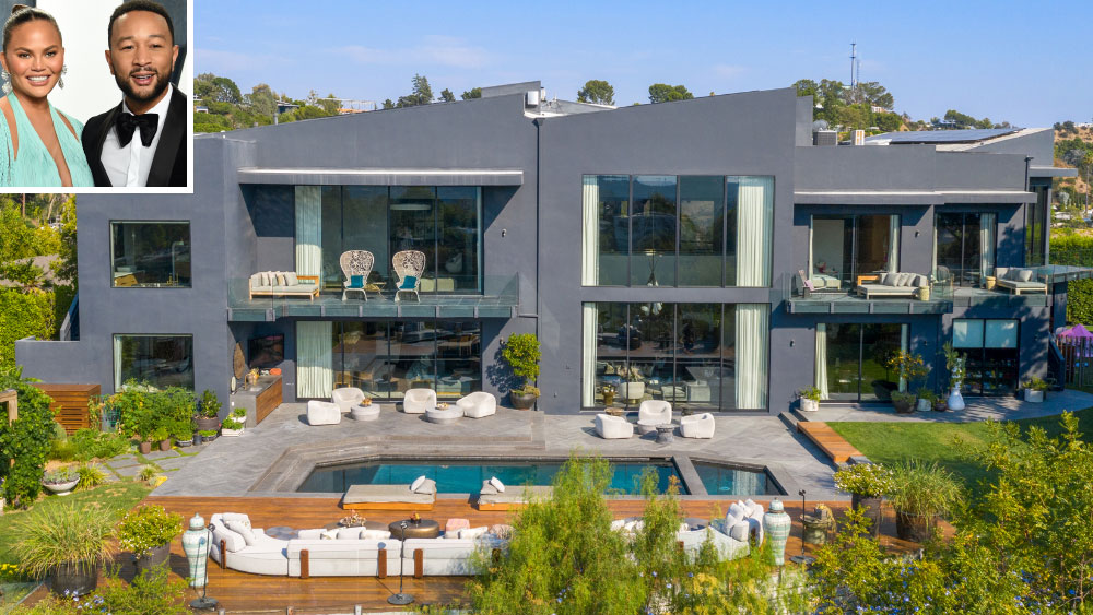 Chrissy Teigen and John Legend home