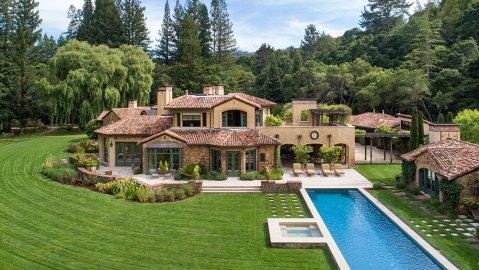 Italianate villa in Silicon Valley