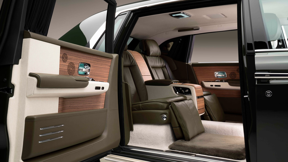 A look inside the one-off Rolls-Royce Phantom Oribe.