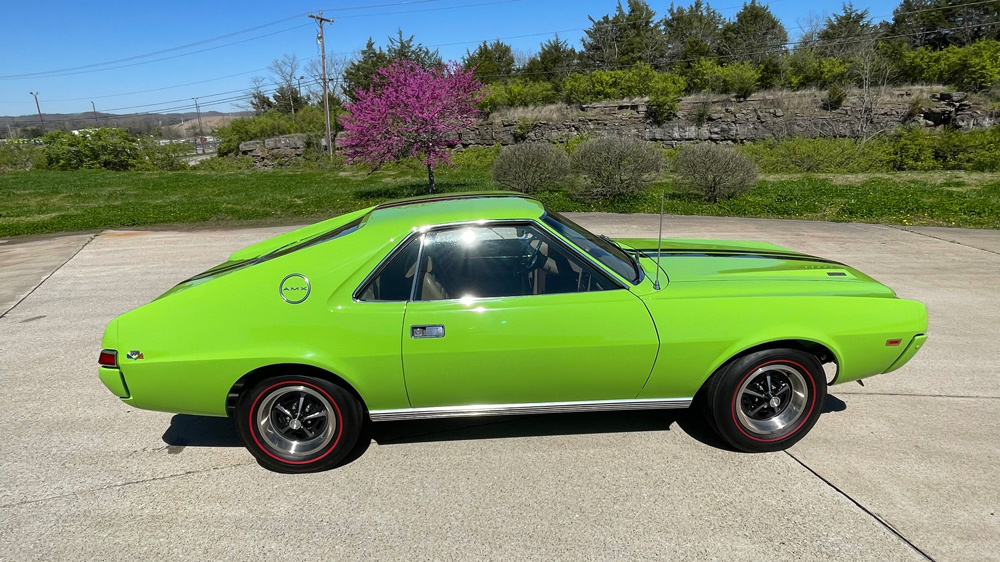 An example of a 1969 AMX California 500 Special from AMC.