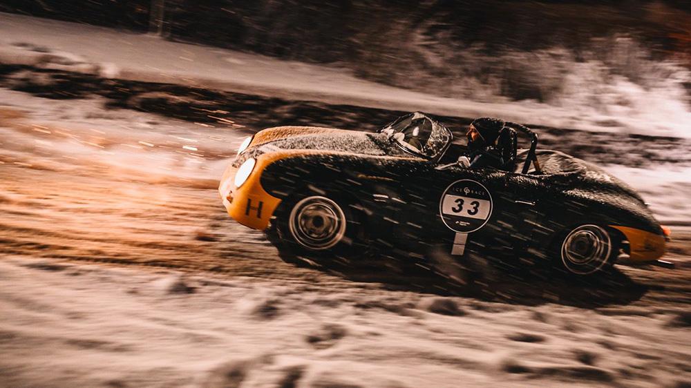 1956 Porsche 356A Speedster ice racer