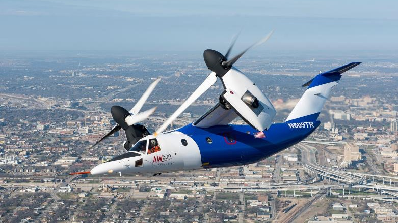New Leonardo tiltrotor has passed through three generations