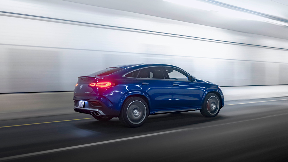 The 2021 Mercedes-AMG GLE 63 S Coupe.
