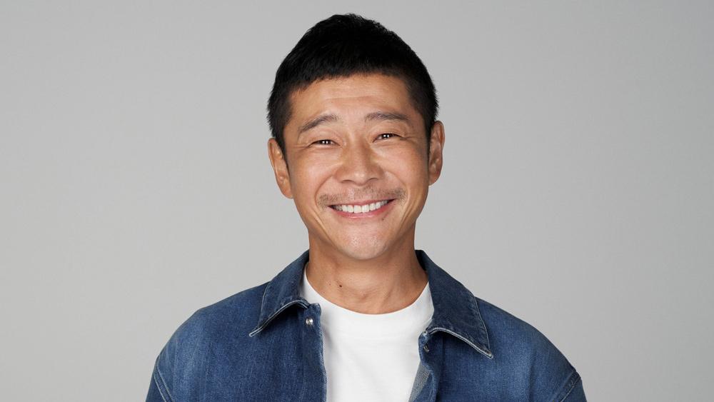 Yusaku Maezawa, founder of online fashion retailer Zozotown.