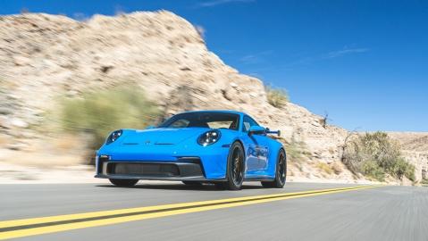 A 2022 Porsche 911 GT3.