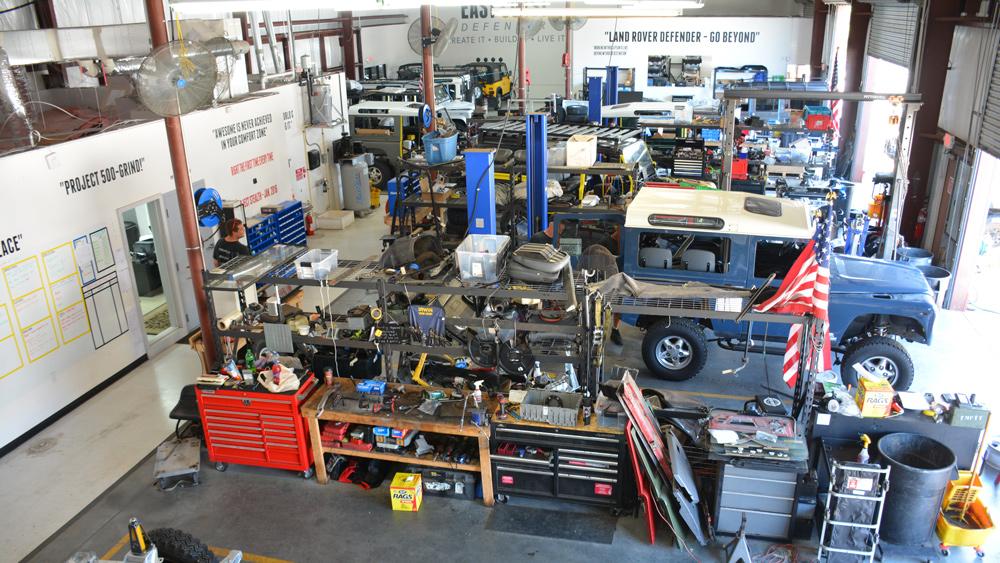 A part of E.C.D. Automotive Design's inner sanctum.