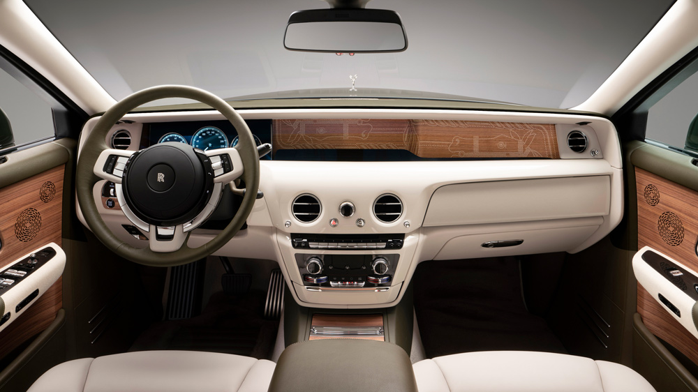Inside the one-off Rolls-Royce Phantom Oribe.