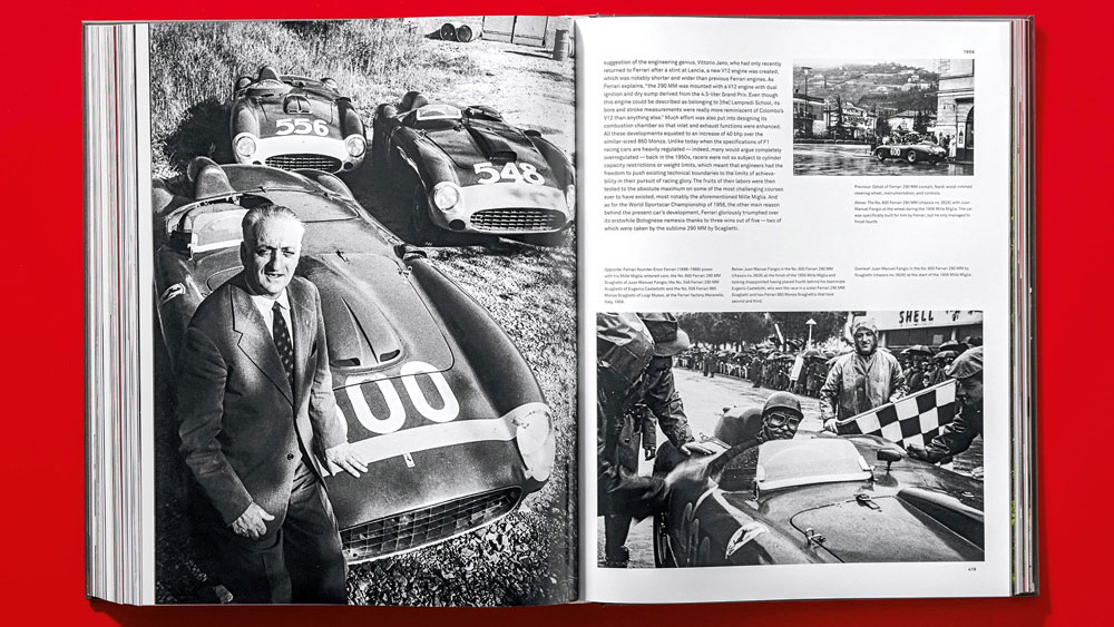 A look inside Taschen's 'Ultimate Collector Cars' coffee-table book.