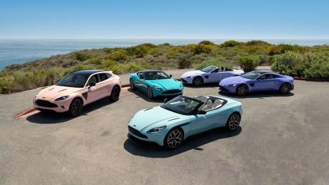Aston Martin Newport Beach Pastel Collection