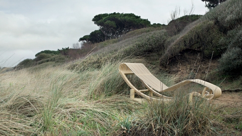 Tokyo Chaise Lounge Cassina