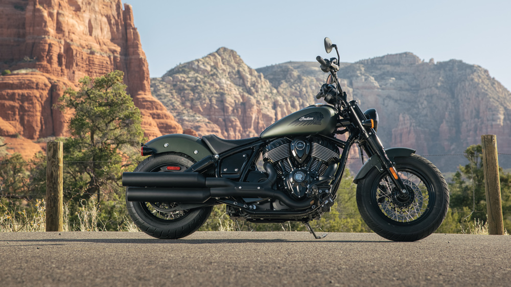 The 2022 Indian Chief Bobber.
