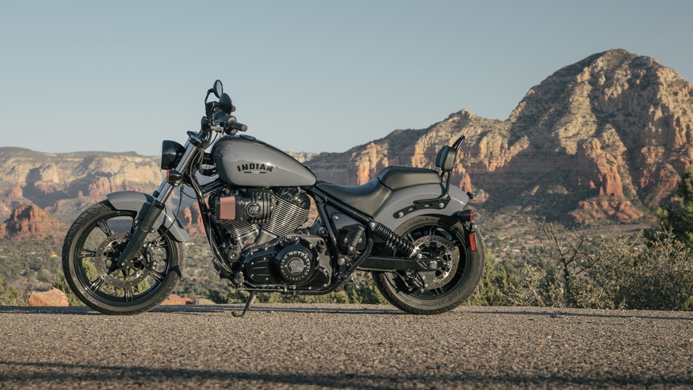 The 2022 Indian Chief motorcycle.