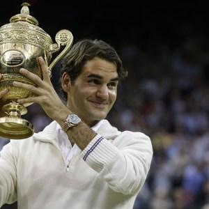 Wimbledon Federer's 8 Tennis