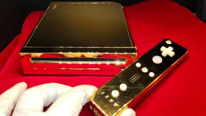 Queen Elizabeth II Gold Wii