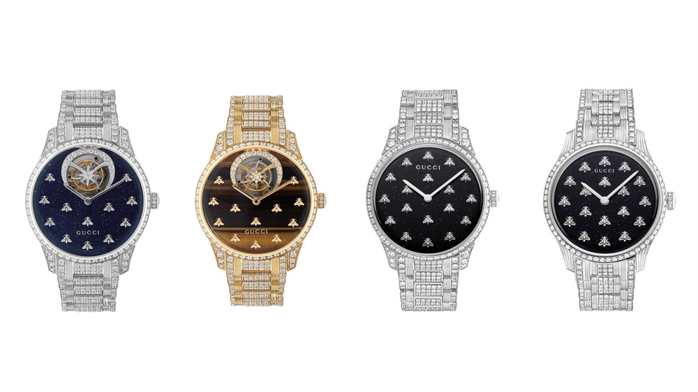Gucci G-Timeless Dancing Bees Collection
