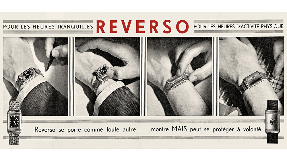 A French Reverso advertisement from 1932