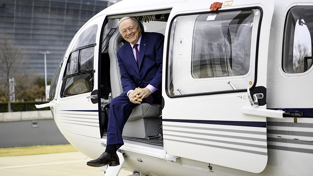 Keeping up with Jerry Jones
