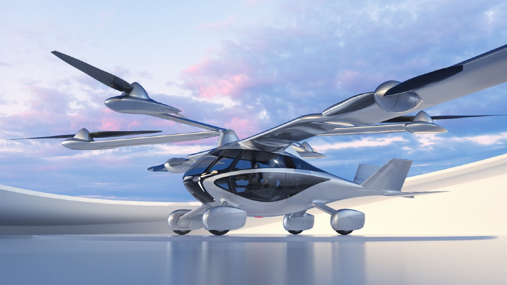 Aska flying car is the size of an SUV. The company will open a showroom today in Los Altos, California