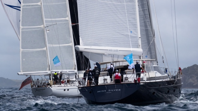 The New Zealand Millennium Cup concluded after three days of racing in the Bay of Islands