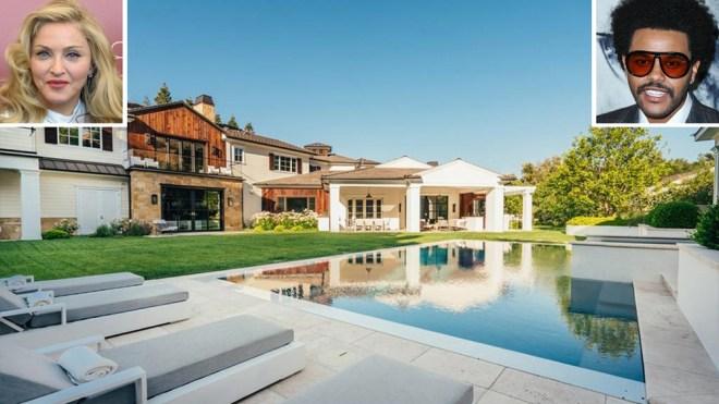 Madonna's Hidden Hills Estate