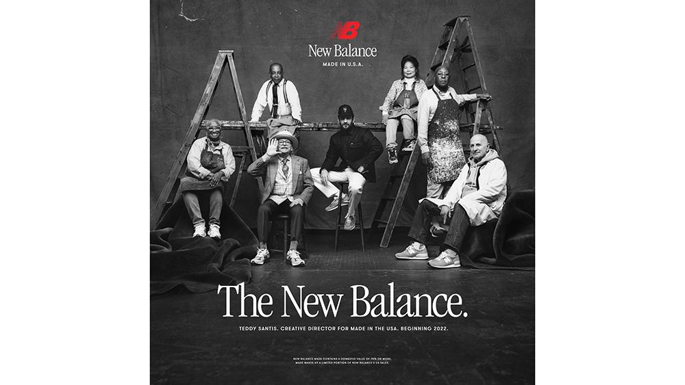 New Balance and Teddy Santis