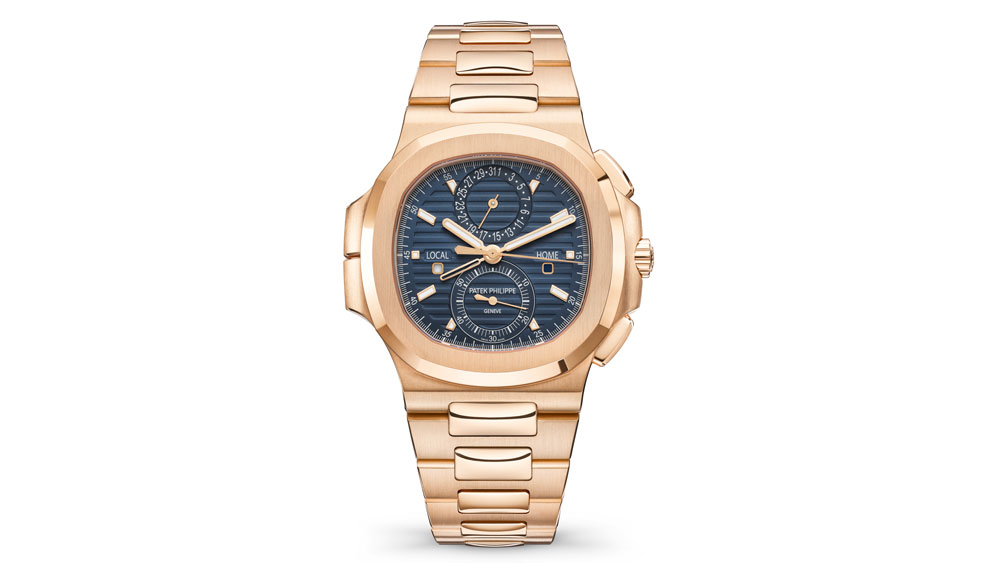 Patek Philippe Nautilus Ref. 5990/1R-001 Travel Time Chronograph