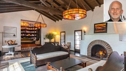 Ryan Murphy Beverly Hills Home