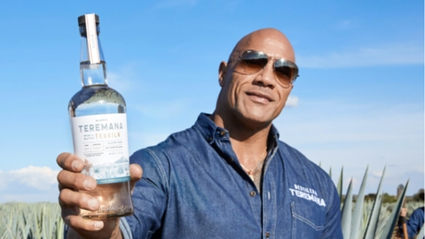 the rock teremana tequila