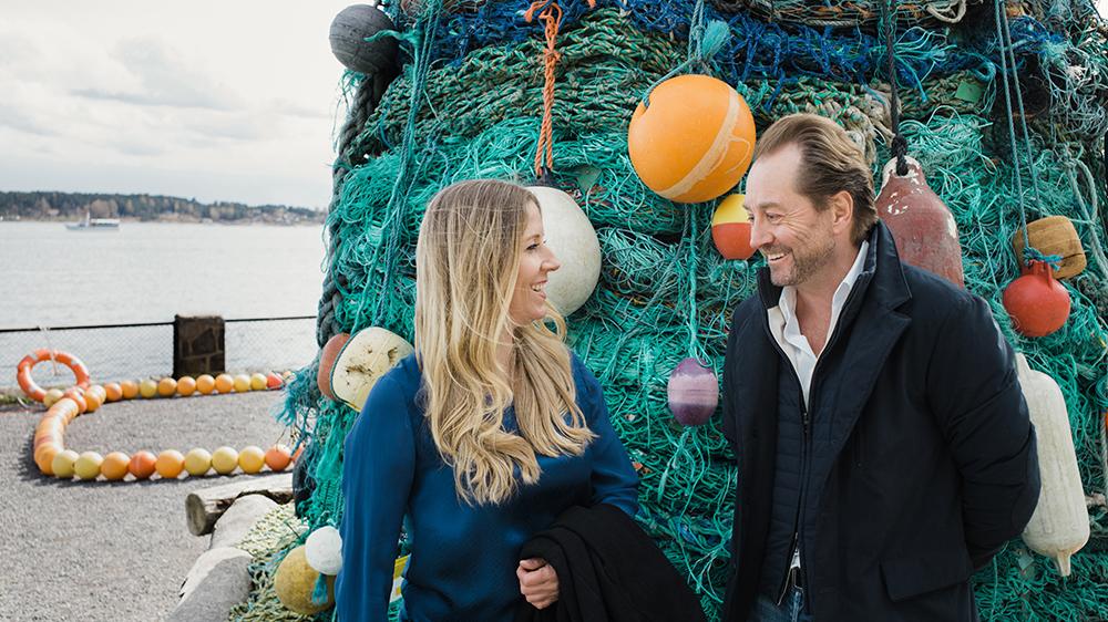 Nina Jensen and Kjell Inge Røkke