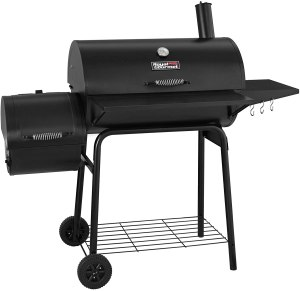 Royal Gourmet Charcoal Grill and Offset Smoker