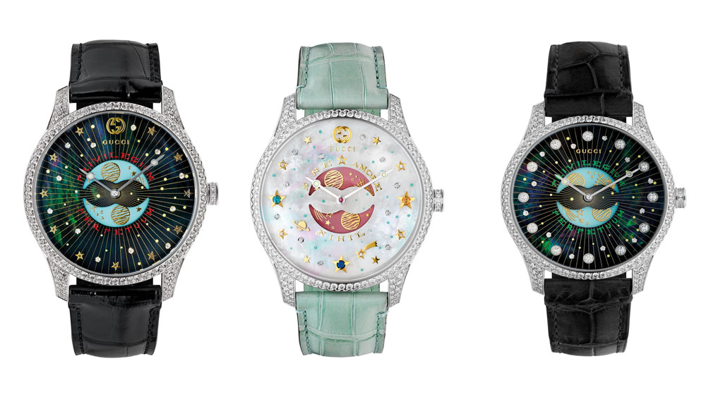 Gucci G-Timeless Moonphase Collection