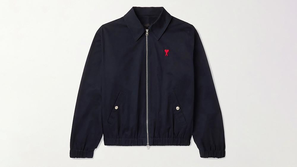 """Ami """"Ami de Coeur"""" Zipped Jacket"""