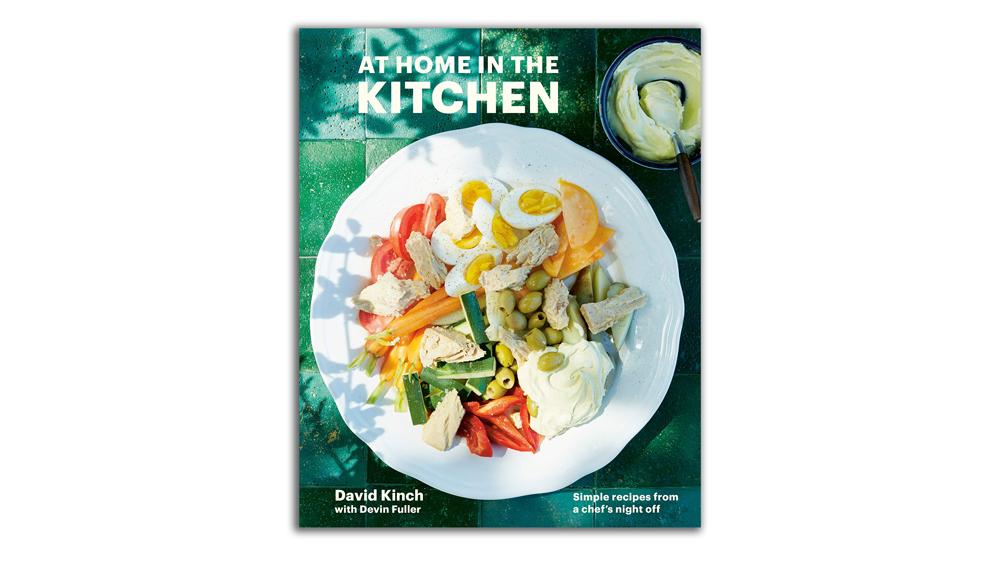 At Home in Kitchen, David Kinch