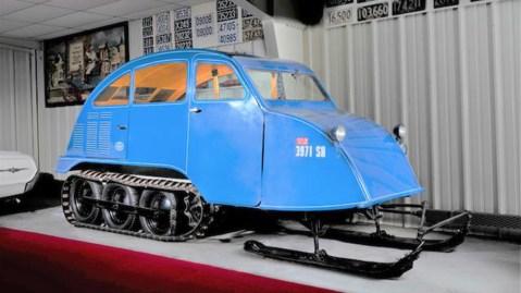 Bombardier B-7 seven-passenger snowmobile