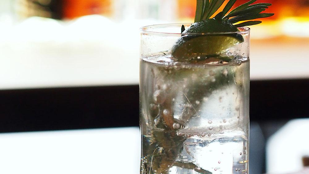 gin and tonic Bramble Bar & Lounge, Edinburgh