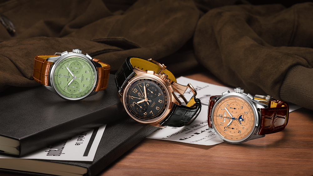 The Breitling Premier Heritage Chronograph 40, the Premier Heritage Duograph 42 and the Premier Heritage Datora 42