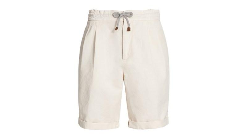 Brunello Cucinelli Pleated Shorts
