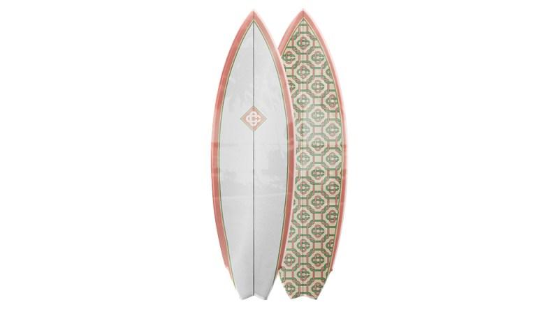 """Casablanca """"Retro Twin"""" Surfboard"""