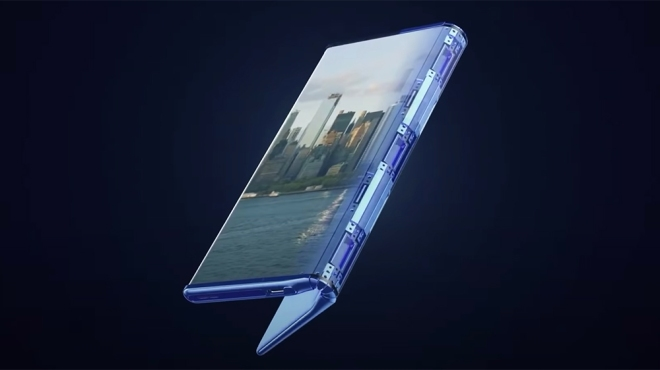 TCL Fold n' Roll concept smartphone