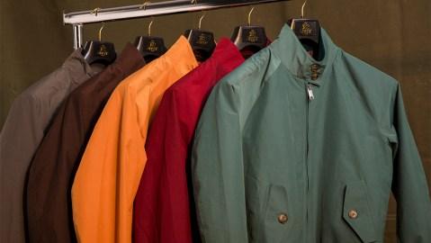 Baracuta's classic G9 jackets.