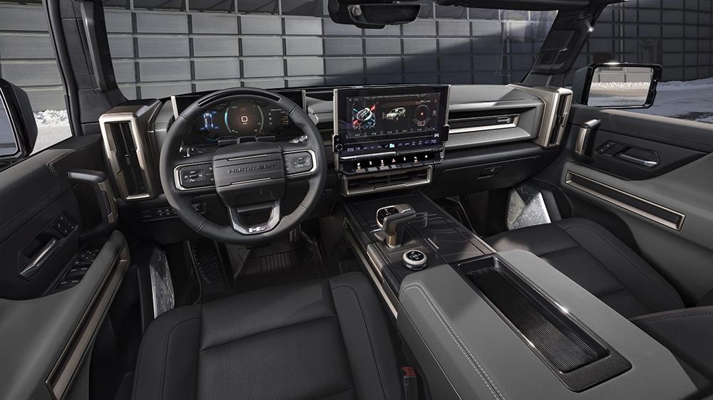 Inside the Hummer EV SUV Edition 1
