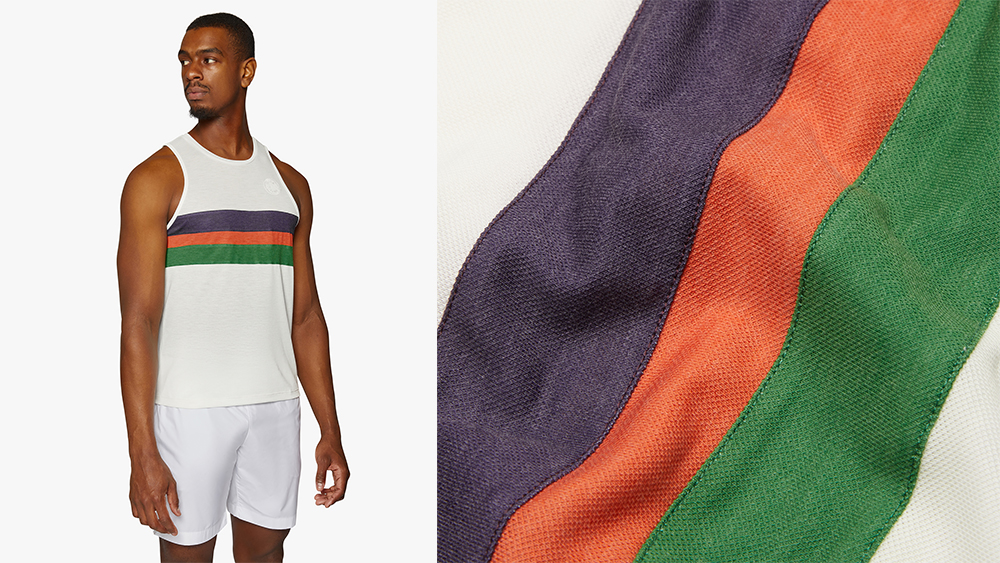 """The """"Lancaster Four Minute Mile Vest"""" and its soft, featherweight fabric."""
