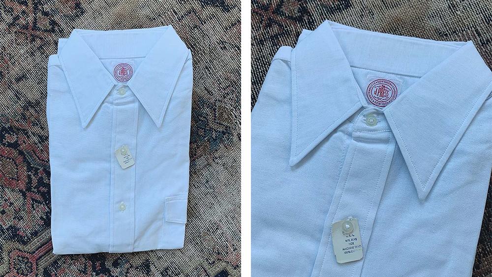 Vintage J. Press Oxford Cloth Shirt – White