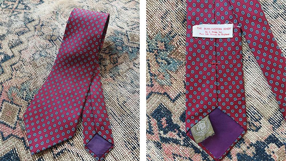 Vintage J. Press Tie