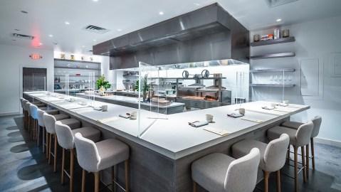 jont tasting counter open kitchen DC